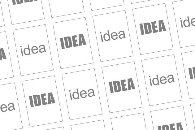 アイデアが出る限り複数のパターンを書く