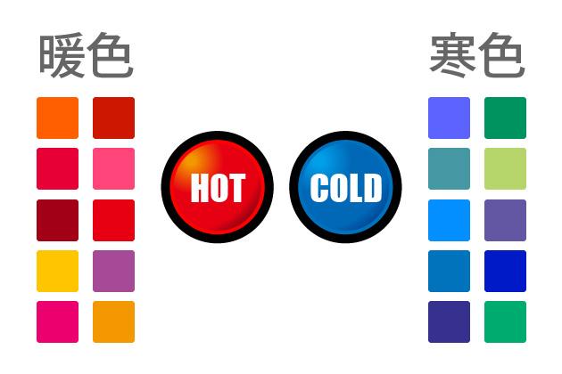 暖色と寒色