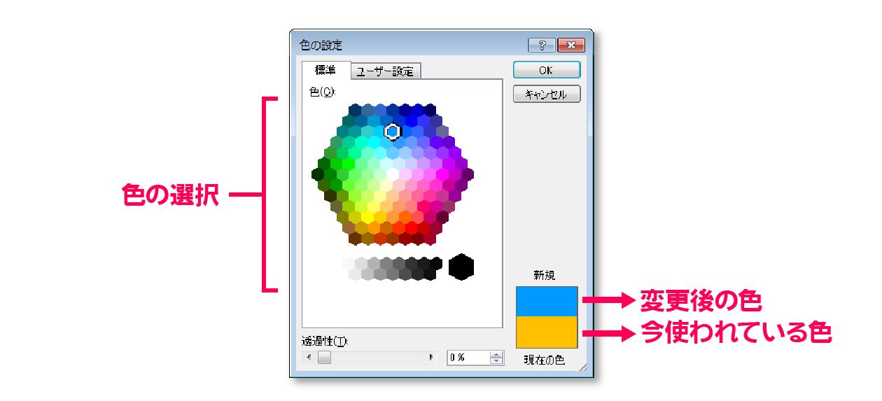 その他の色-標準タブ
