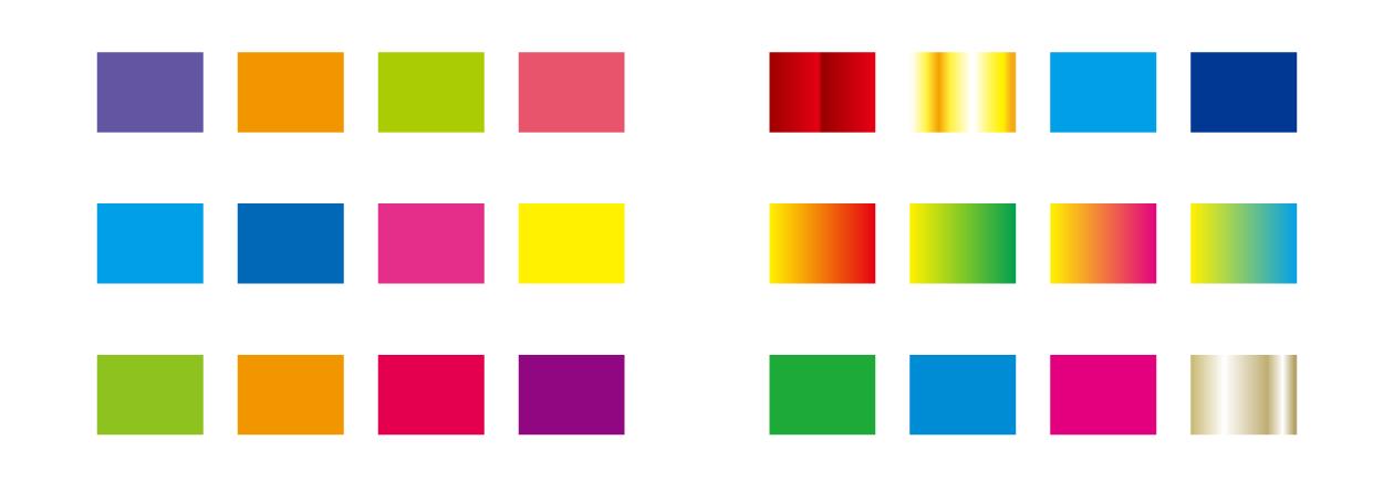 配色やグラデーションまとめ2
