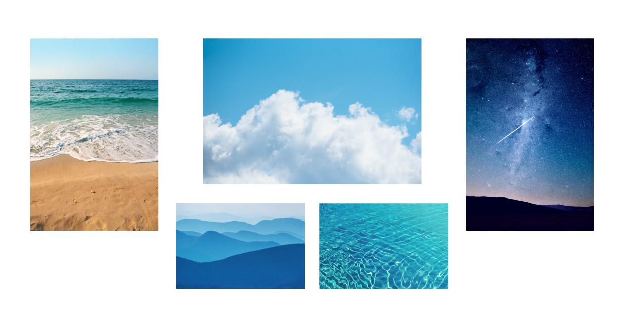 青から連想するもの