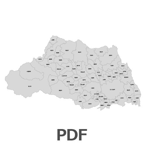 PDF埼玉県地図