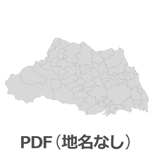 PDF埼玉県地図(地名なし)