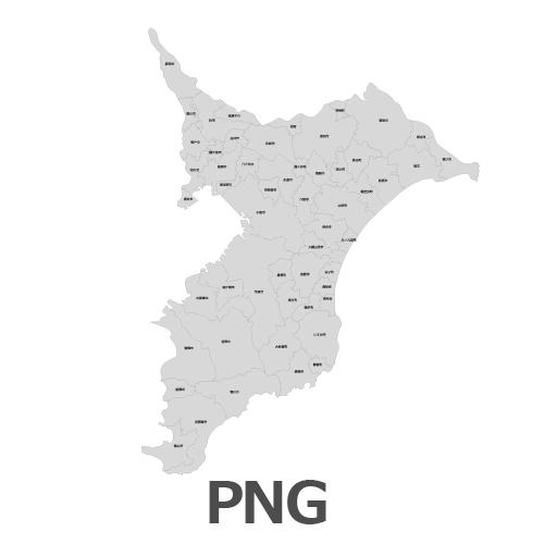 PNG千葉県地図