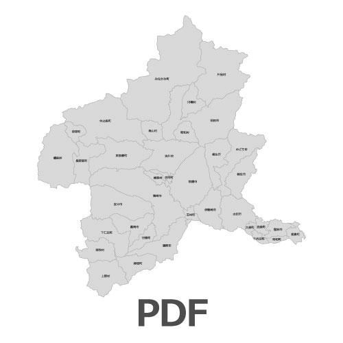 PDF群馬県地図