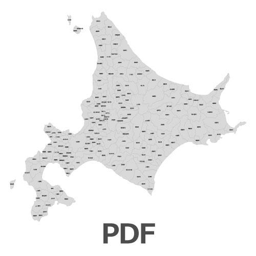 PDF北海道地図