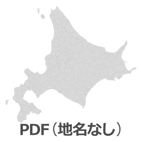 PDF北海道地図(地名なし)