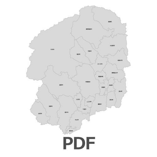PDF栃木県地図