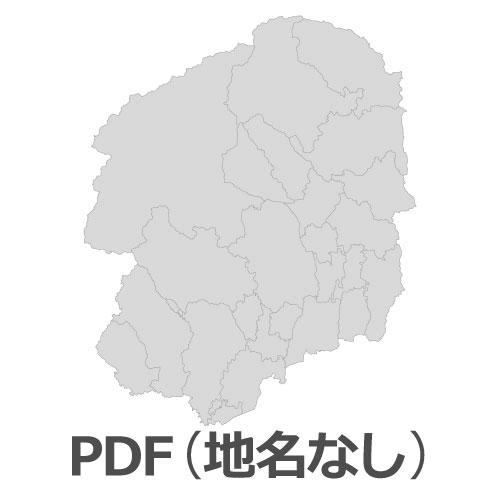 PDF栃木県地図(地名なし)